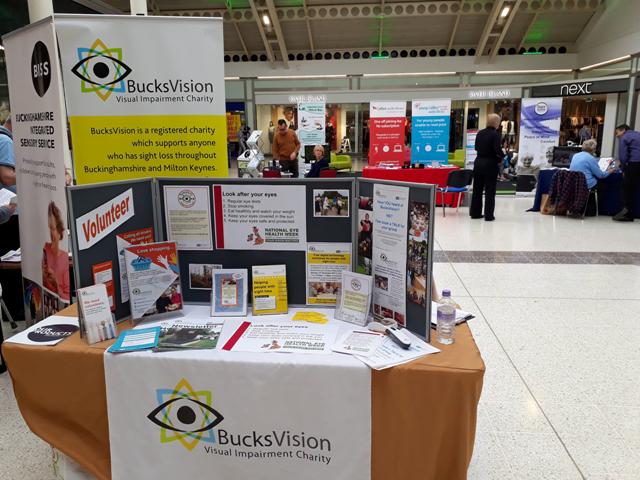 BucksVision stand