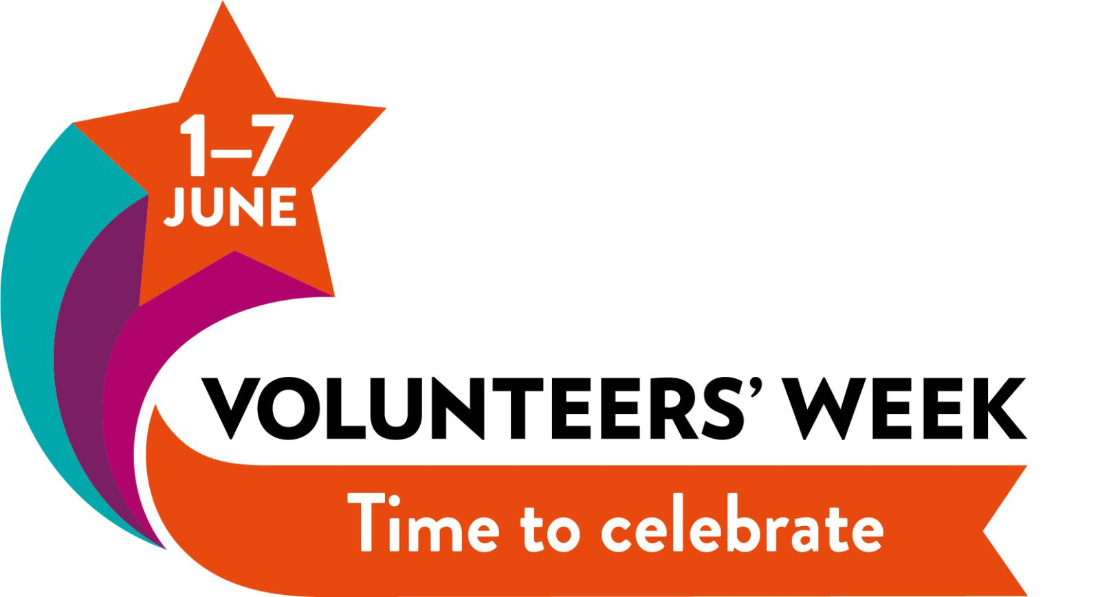 Logo of volunteers week